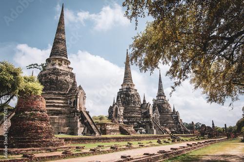 Foto  Wat Phra Si Sanphet in Ayutthaya, Thailand