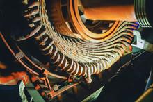 Stator Generators Of A Big Ele...