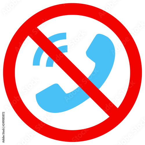 Photo 電話禁止マーク