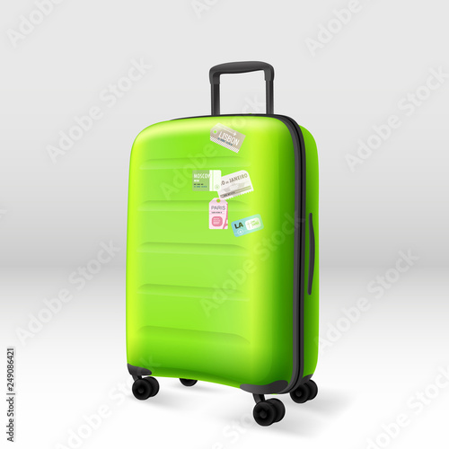 Fototapety, obrazy: Siutcase. Vector illustration