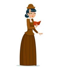 Victorian Lady Character Readi...