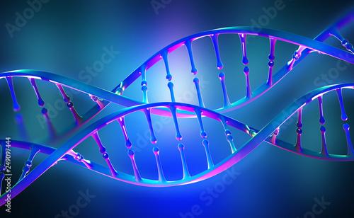 Fotografie, Obraz DNA genome research