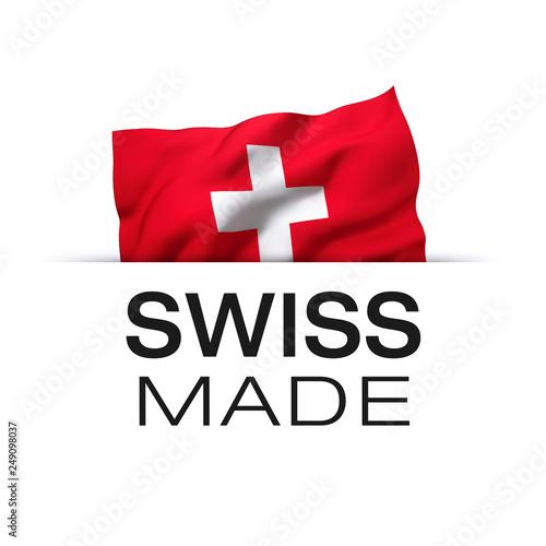 Fotografie, Tablou Swiss made - Label