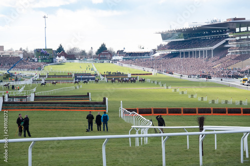 Photo Cheltenham Races National Hunt at Cheltenham Racecourse
