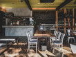 canvas print picture - Interior of Japanese modern style cafe