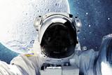 Fototapeta Kosmos - Astronaut