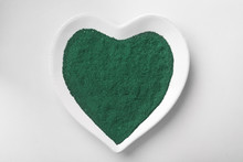 Heart Shaped Plate With Spirul...