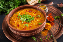 Indian Dal. Traditional Indian...