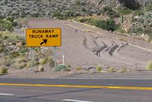Runaway Truck Ramp In The Moun...
