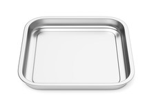 Square Steel Baking Or Food Tr...