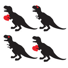 St Valentine's Day Dinosaur Si...