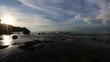 Sunset at Secret Beach near Balangan, Bali, Indonesia.