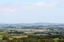View Of The English Cornish Co...