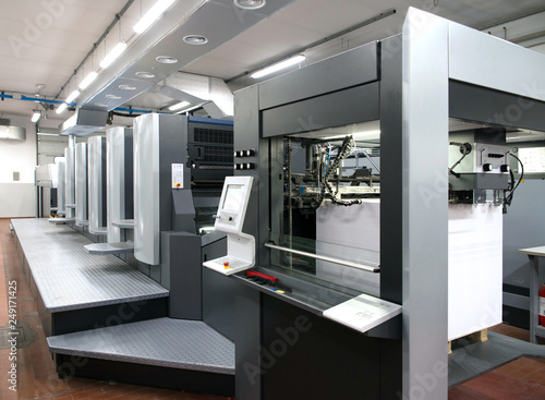 Fotomural  Press printing - Offset machine