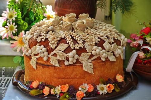 Fotografie, Obraz  wedding loaf