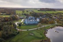 Dromoland Castle Aerial View. ...