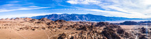 Aerial View Of Mt Whitney Lone...