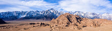Aerial View Of Mount Whitney Lone Pine, CA Eastern Sierra Nevada Alabama Hills