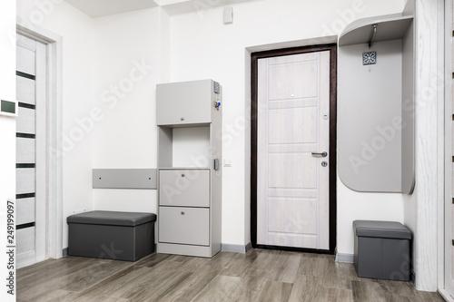 Modern brand new hallway interior Fotobehang