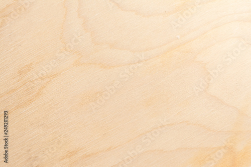 Photo sur Toile Marbre Real natural light birch plywood. High-detailed wood texture.