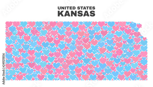 Mosaic Kansas State map of valentine s in pink and blue colors ... on indianapolis map shape, wisconsin map shape, america map shape, georgia map shape, nevada map shape, new mexico map shape, idaho map shape, michigan map shape, louisiana map shape, oklahoma map shape, oregon map shape, montana map shape, boston map shape, massachusetts map shape, chicago map shape, mississippi map shape, wyoming map shape, seattle map shape, delaware map shape, missouri map shape,