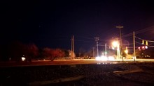 Nighttime Time Lapse By The Tr...