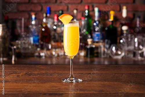 Vodka Orange Juice Mimosa Cocktail Fototapet
