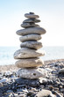 balancing stone on top of each other