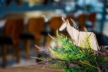 Brown Kangaroo Paper Folding Origami, Decorates In Restaurant, Coffee Shop