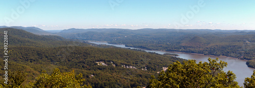 Fotografie, Tablou View of the Hudson River and the Surrounding Mountains