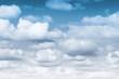 Leinwandbild Motiv blue sky gradient nature for background