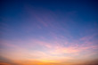 clouds sky sunset colorful