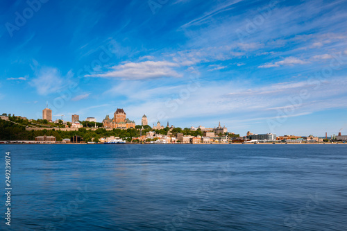 Skyline of Old Quebec City, Quebec, Canada Tableau sur Toile