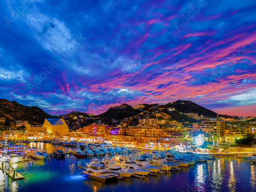 Photo  Cabos San Lucas Sunset In HDR