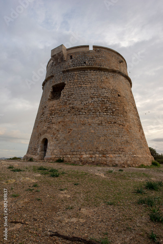 Photographie  The tower of Sa Sal Rossa at dawn