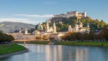 Panorama Von Salzburg Zur Blau...