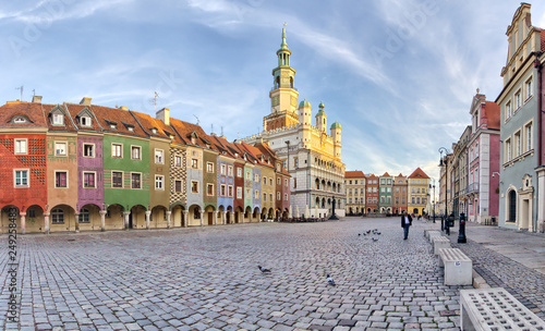 City center and town hall - Poznan - Poland
