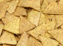 Many Salted Tortilla Chips