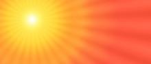 Sun Sunset Sunrise Border Background Yellow Orange