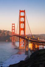 Golden Gate Bridge, Marin Coun...