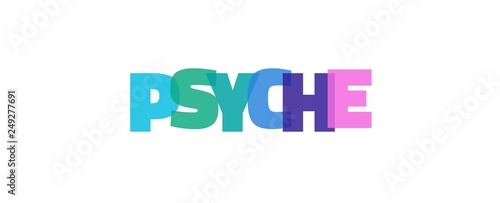 Obraz Psyche word concept - fototapety do salonu