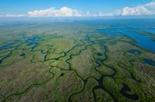 Aerial View, Everglades Natuional Park, FLORIDA, USA, AMERICA
