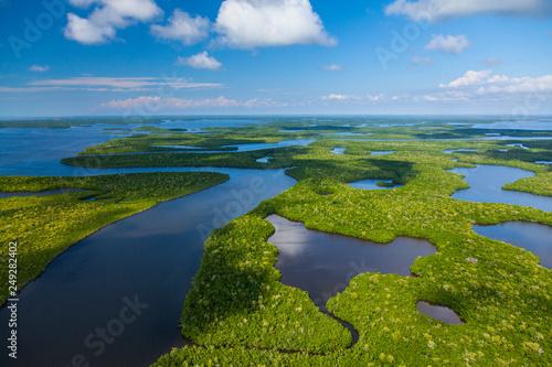 Fotografía Aerial view, Everglades Natuional Park, FLORIDA, USA, AMERICA