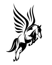Flying Winged Pegasus Horse - ...