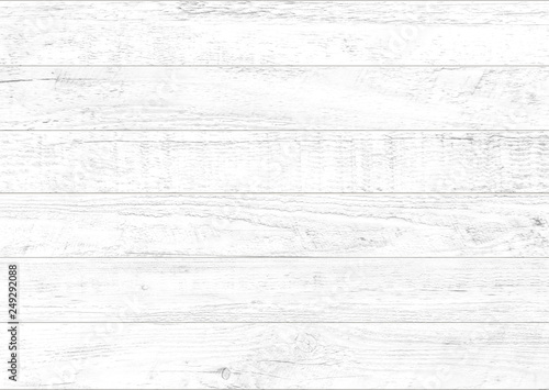 White wood pattern and texture for background. Close-up. - 249292088