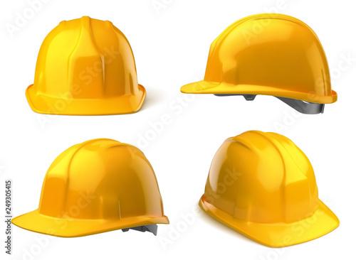 Fotografia Casques de chantier vectoriels 19