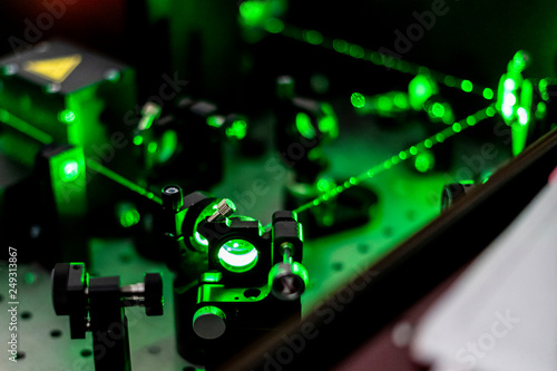 Fotografering electric circuit ionization with laser b