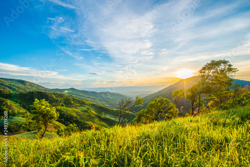 Fototapeta  Mountains in bright days.19