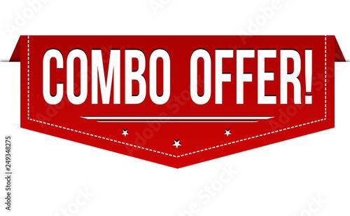 Fotografía  Combo offer banner design