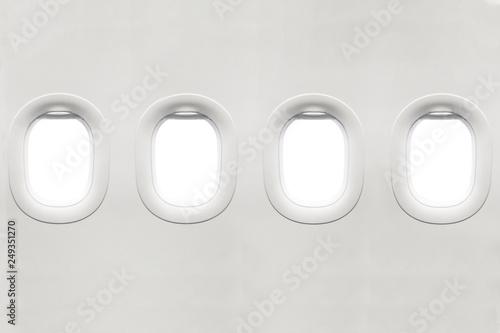 Fényképezés  Isolated airplane window